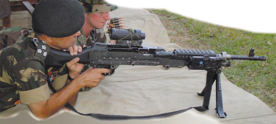 M240l Machine Gun M240B Machine Gun