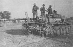 Captured Chinese T-59 tank
