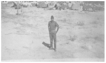 Tiger Harolikar After Surrender of Pakistani Garrison Sylhet