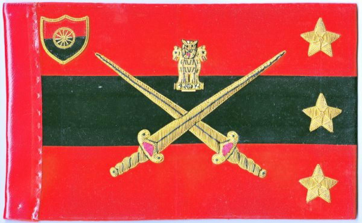 Rank Flags - Bharat Rakshak - Indian Army & Land Forces
