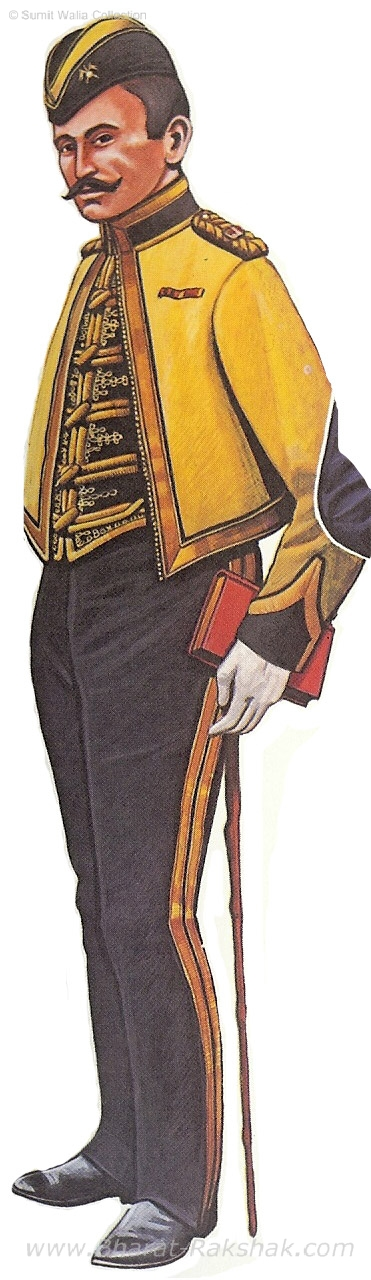 Lieutenant, cold weather mess dress, 1st SH, 1908.jpg