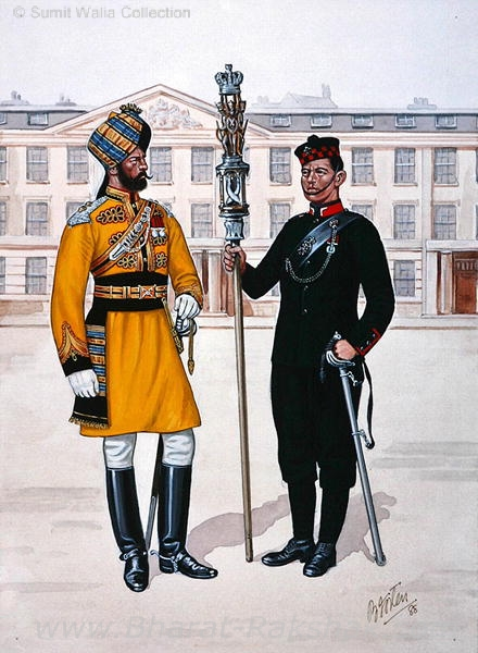 Officer of the 1st Bengal Lancers (Skinner's Horse).JPG