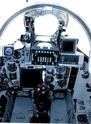 Upgraded MiG-27 Cockpit (Ac No TU595 formerly TS595)
