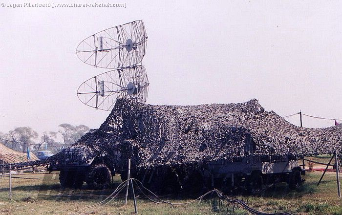 P-15 'Flatface' Radar of a SA-3 Pechora SAM Squadron