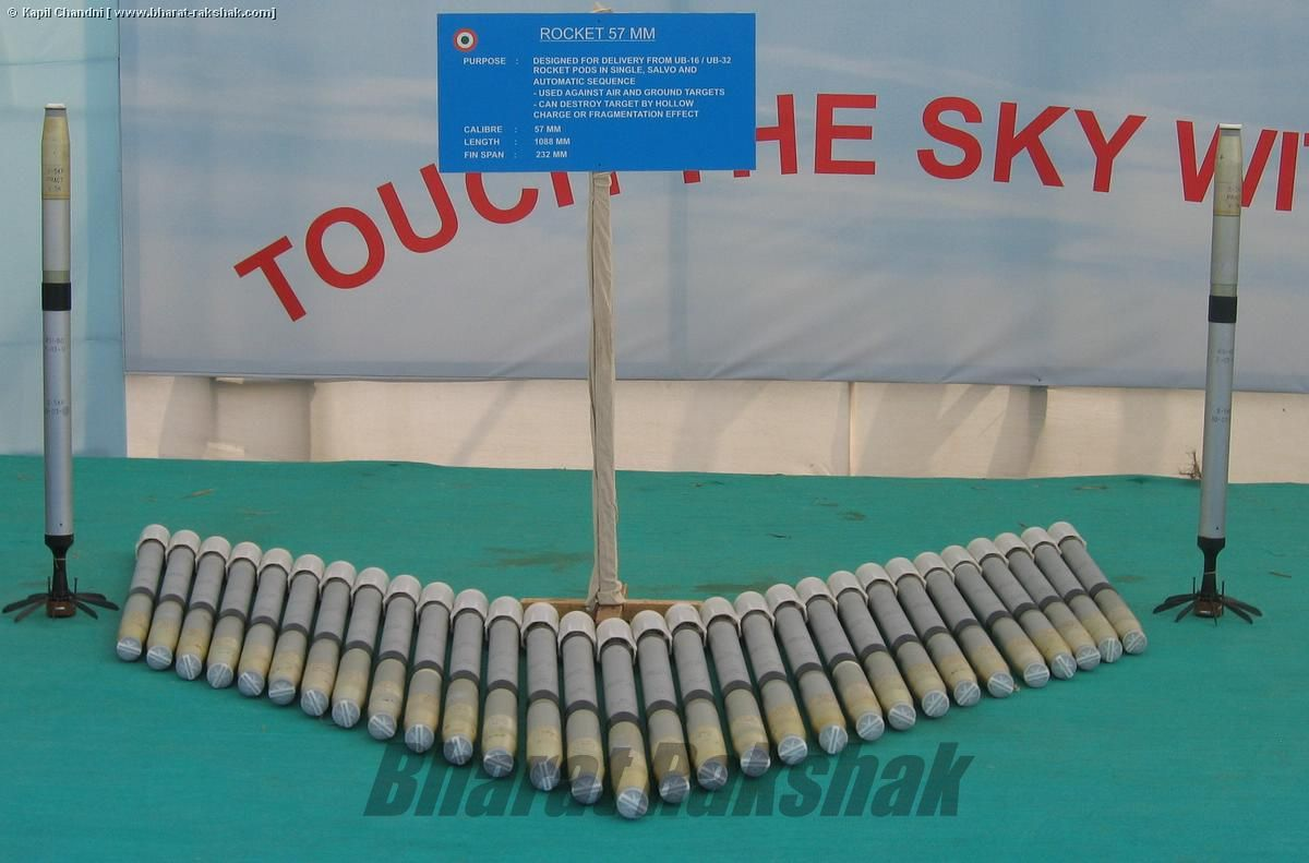 57MM Rockets for UB16 and UB32 Pods