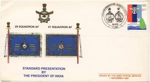 Presidents Standards to No.29 Squadron and No.41 Squadron