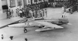 First HAL built Gnat E245