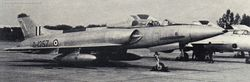 F24 Marut D1257 - with a MiG-21M in the background