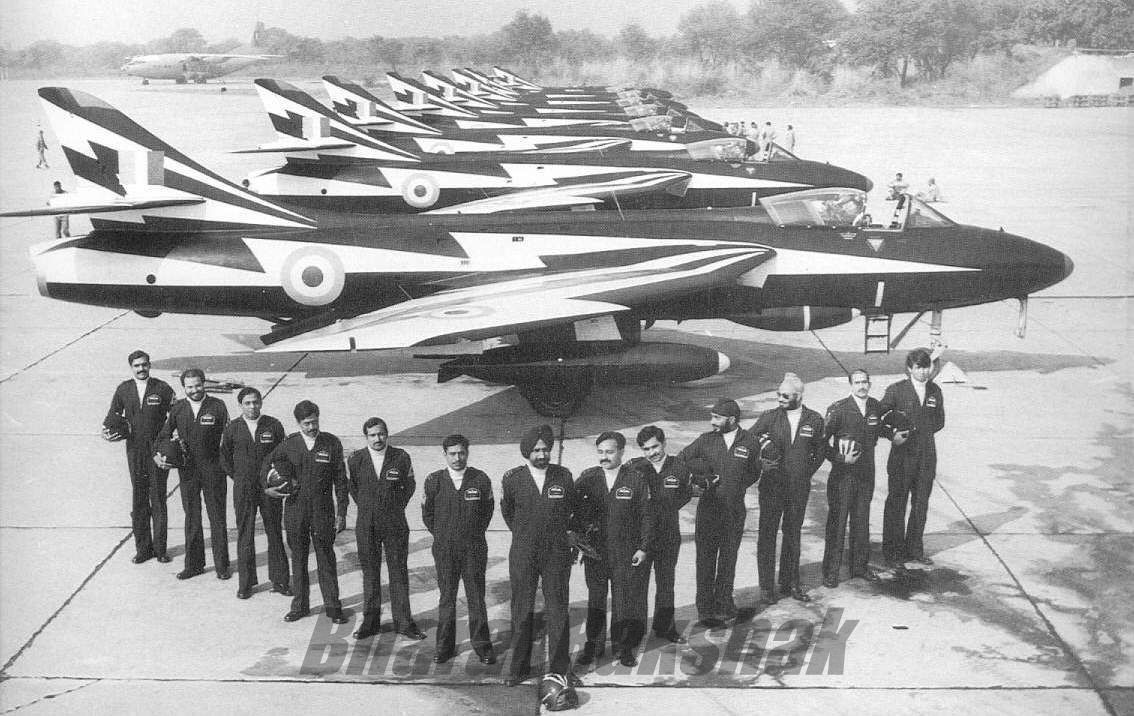 The Thunderbolts - Pilots and Aircraft