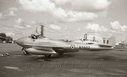 De Havilland Vampire T55, PR55 and NF54 (Twin Seaters)