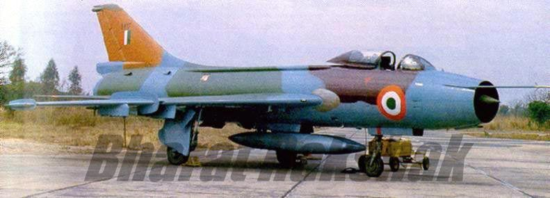 Sukhoi from the Tigersharks  Su-7 from No.222 Tigersharks Squadron