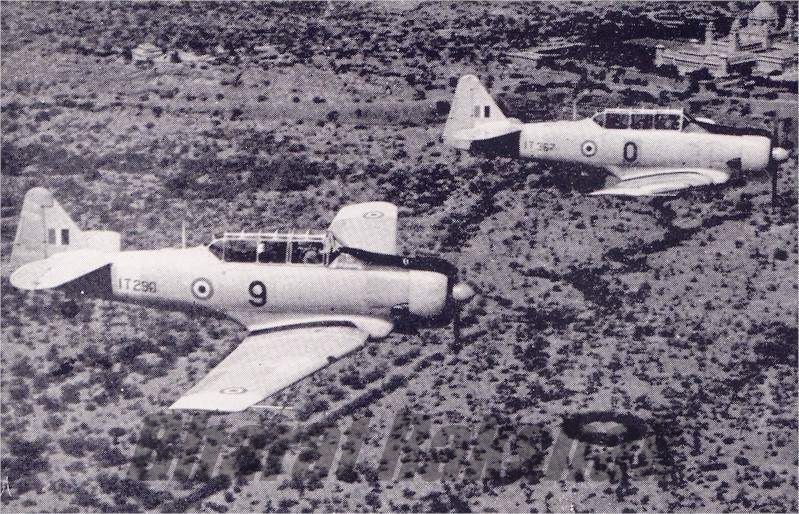 Harvard T-6Gs  over Jodhpurs Umaid Bhawan.