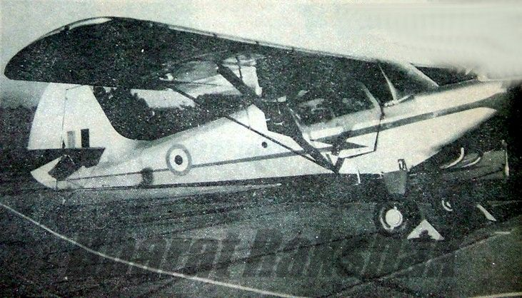 The Kanpur 1 - IAFs first aircraft.