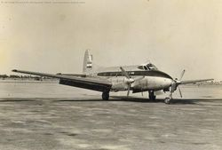 De Havilland Devon HW201 in its early days
