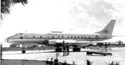 Tupolev Tu-124 at Palam