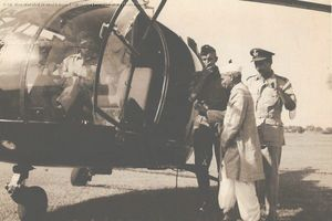 Flying PM Shastri to Kaluchak Post
