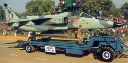 Jaguar IM at Republic Day Parade