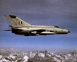 Pre-upgrade Bison over the Himalayas