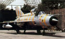 MiG-21bis [C2788], from No.24 Hawks Squadron