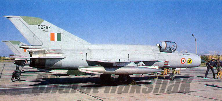 MiG-21s of the No.24 Squadron