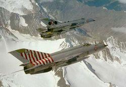 Trio of MiG-21MFs