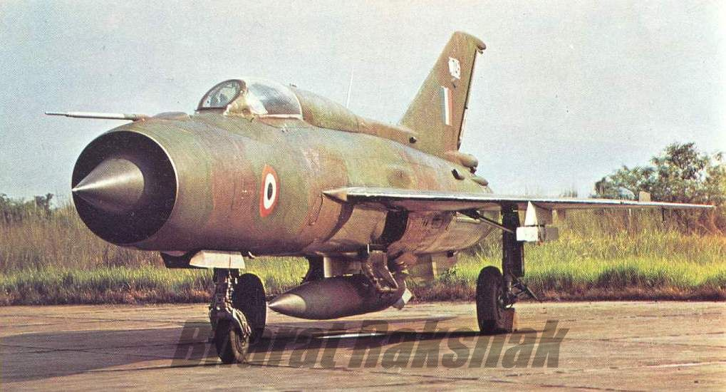 MiG-21FL of No.28 Squadron during the 1971 War operations.
