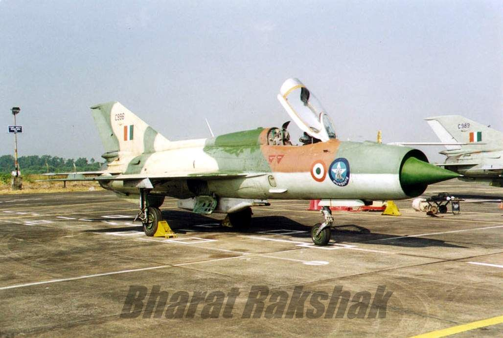 MiG-21FL (C-996), from the No.8 Squadron
