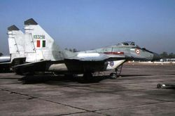 MiG-29 [KB3298]  parked at Lohegaon