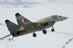 First Flight of Upgraded MiG-29