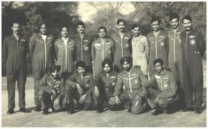 Command of No.222 Squadron 1979-81