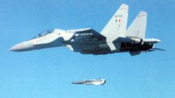 Firing a Kh-31a Air to Surface Guided Missile