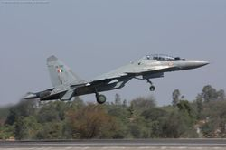 Sukhoi-30 MKI [SB040] taking off