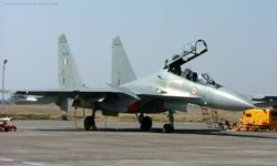 Sukhoi-30MKI [SB041] of the Charging Rhinos