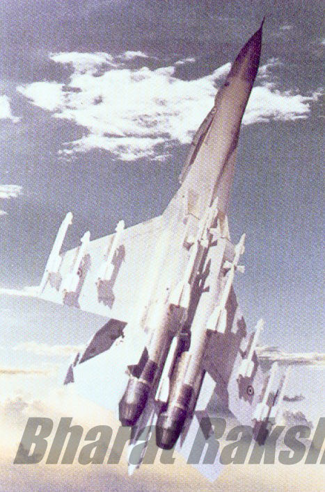 Flanker goes vertical