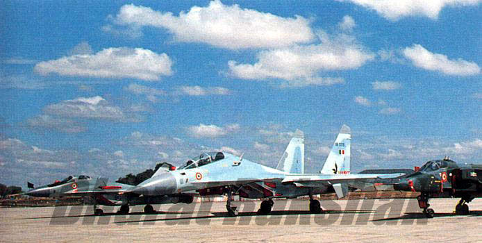 Flanker with Jaguar and Fulcrum