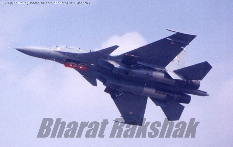 Flanker over Yelahanka