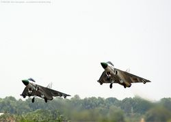 TD1 and TD2 take off in formation