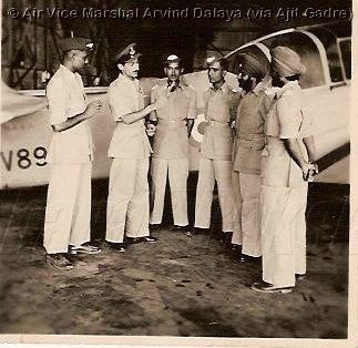 With Trainee Flying Officers