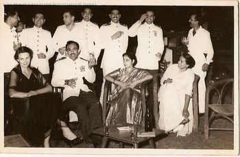 Air Force Day Bombay 1957.