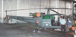 Chetak BZ798 on static display at Dundigal