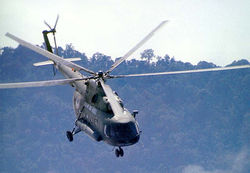 A superb shot of a Mi-17, up close and personal.