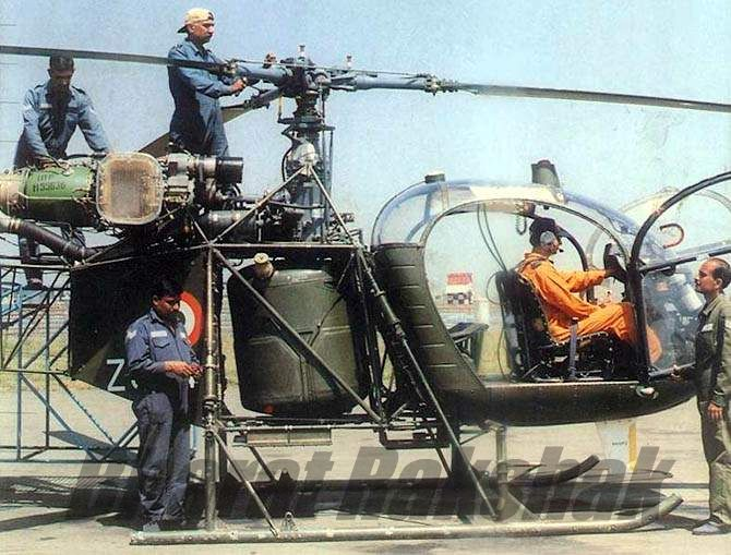Routine Maintenance on a Cheetah