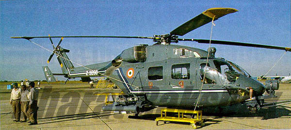 Armed Dhruv Mockup at Aero India 96