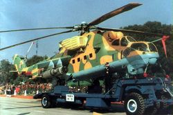 Mi-35 during the Republic Day Parade