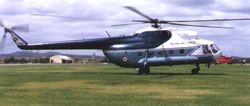 VIP Configured Mi-8 at Yelahanka