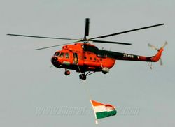 Mi-8 over Port Blair