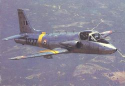 Kiran Mk 1A in Flight