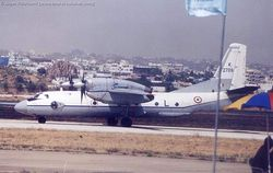 An-32 K2709 at the Begumpet Air Display
