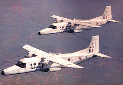 Pair of Dorniers in flight HM675 & HM671