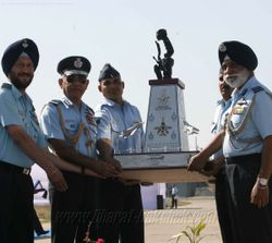 Mig-23BN Retirement Ceremony Trophy to CAS